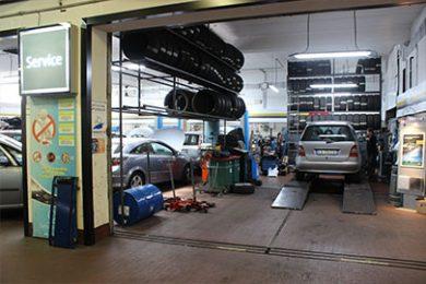 Officina opel roma Nord Alcara - Entrata delle Auto
