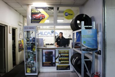 Officina Opel roma Nord Alcara - Ufficio